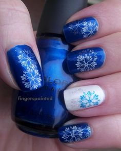 25 Inspirational Winter Nail Designs