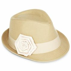 5186ac46b36 Poplin Fedora with Grosgrain Ribbon Jcpenney Coupons