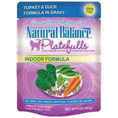 Natural Balance Indoor Platefulls Cat Pouch, Pack of 24 * Want to know more, click on the image.