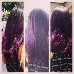 Purple Ombre!!!  Hair by Chena