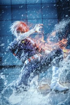 Boku no Hero Academia || Todoroki Shouto [ Cosplayer: Takuwest ]