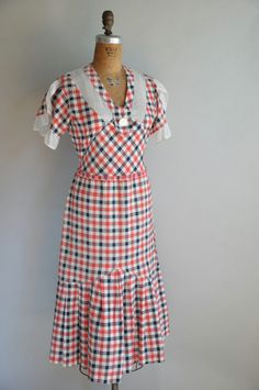 1930s dress.
