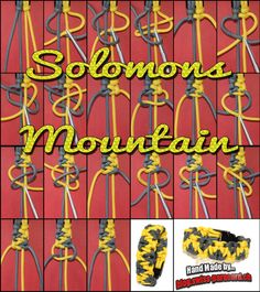 Solomons Mountain Tutorial