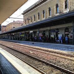 """""""Bologna Central train station. So long Emilia Romagna!"""" - Instagram by @everythingeverywhere"""