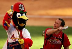 Their mascot is a child's waking nightmare. | 23 Reasons It's Perfectly OK To Despise The St. Louis Cardinals