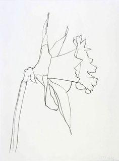 clear-glass:  Daffodil by Ellsworth Kelly, 2004.