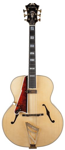 D'Angelico Guitars USA 1942 Master Builder Series Lefty Natural