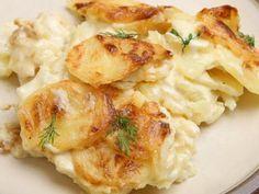 Gratin Dauphinois - Recette de cuisine Marmiton : une recette