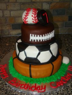Soccer cake Soccer cake Cake decorating supplies and