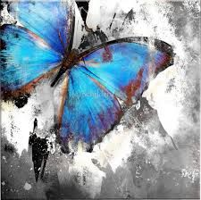 Startonight Canvas Wall Art Butterfly Abstract Turquoise, Butterfly USA Design for Home Decor, Dual View Surprise Artwork Modern Framed Ready to Hang Wall Art X Inch Original Art Painting! Abstract Canvas, Abstract Paintings, Canvas Wall Art, Canvas Prints, Butterfly Painting, Blue Butterfly, Butterfly Canvas, Art Pastel, Painting Inspiration