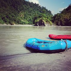 #rafting in #nepal along the setti River. Really enjoying the river expeditions!