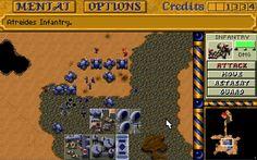 Dune II  Der Gegner schickt seine Einheiten oft schon sehr früh, dafür aber nur in kleinen Trupps vorbei.