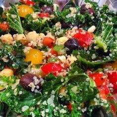 Healthy Fit Goddess Recipe: Quinoa Kale Salad