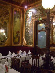 Brasserie Julien – 16 rue du Faubourg Saint-Denis, Paris Xe by Yvette Gauthier, via Flickr