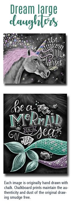 Unicorn Art Unicorn Print Chalk Art Chalkboard Art Be A Unicorn In A Field Of Horses I Believe In Unicorns Girls Room Decor Unicorn Rooms, Unicorn Bedroom, Unicorn Art, Unicorn Painting, Magical Unicorn, Chalkboard Print, Chalkboard Designs, Nursery Quotes, Baby Quotes