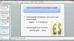 Examen economie vmbo-tl 2014| consumptie en geld