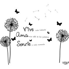 Vivir Amar y Sonreír. Inspirational Phrases, Motivational Phrases, Unique Quotes, Spanish Quotes, Messages, Way To Make Money, Namaste, Positive Quotes, Me Quotes