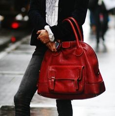 The red bag.