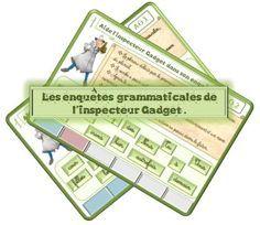 CE1/2 les enquêtes grammaticales de l'inspecteur : natures des mots