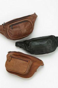Urban Renewal Vintage Leather Belt Bag #urbanoutfitters