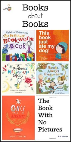 hilarious picture books about books, stories, and the alphabet - love this list!
