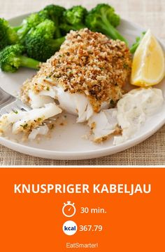Knuspriger Kabeljau - smarter - Kalorien: 367.79 kcal - Zeit: 30 Min. | eatsmarter.de
