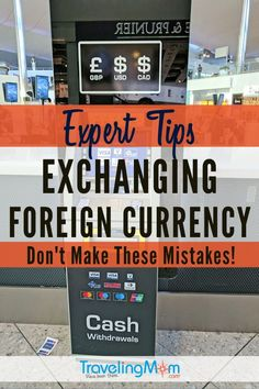 Expert Tips for Exchanging Foreign Currency Family Vacation Destinations, Travel Destinations, Family Vacations, Vacation Ideas, Cheap Travel, Budget Travel, Travel With Kids, Family Travel, Travel Guides