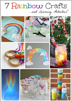 7 of Our Favorite Rainbow Crafts  Learning Activities for Kids~ Buggy and Buddy