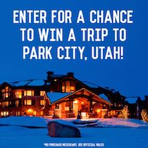 Been dreaming of a trip for 2 to Park City, Utah? Win 3 nights at the @WaldorfAstoriaParkCity, round-trip airfare, plus tickets to the Sundance Film Festival. Snuggle up and enjoy mountains + movies. tastingtable.com/movies2014