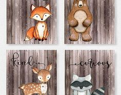 Woodland Nursery Boy, Fox Nursery, Woodland Nursery Decor, Woodland Baby, Animal Nursery, Woodland Animals, Forest Animals, Fox Themed Nursery, Woodland Creatures