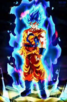 Goku Super Saiyan God-Super Saiyan Live Wallpaper. (1080p)