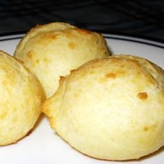 """""""These are good, very cheesy rolls that are delicious as a warm appetizer. My boyfriend and I make them about 2 to 4 times a month. I recommend doubling the recipe if serving more than 2 or 3 people. Good Food, Yummy Food, Tasty, Warm Appetizers, Bread Recipes, Cooking Recipes, Puff Recipe, Cannoli, Italian Recipes"""