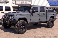 Another 2014 Rubicon Unlimited AEV Brute Double-Cab Conversion. See more at RubiTrux.com!