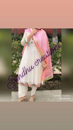 Stories • Instagram Embroidery Suits Punjabi, Embroidery Suits Design, Embroidery Fashion, Embroidery Dress, Designer Punjabi Suits Patiala, Patiala Suit Designs, Indian Designer Suits, Salwar Suits, Punjabi Wedding Suit