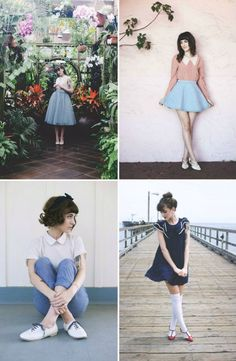 Most of my style crushes have been people I've been following via their blogs or a fan of for years, but there are a few ones that are newer to me that are inspiring me with fresh style. Kiana of Finc