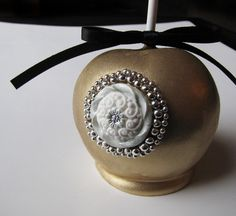 Gold Jeweled Apple