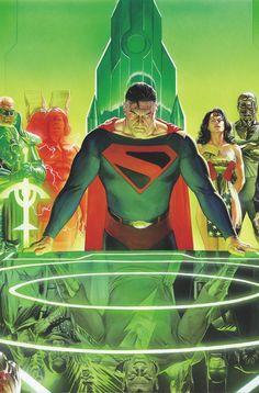 KINGDOM COME 20TH ANNIVERSARY DELUXE EDITION HC//DC/Alex Ross/ Comic Art Community GALLERY OF COMIC ART