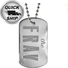 The source for custom dog tags. Engraved Dog Tags, Custom Dog Tags, Dog Tags Military, Embossed Logo, Dog Tag Necklace, Prints, Personalized Dog Tags
