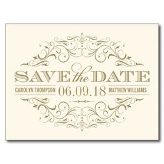 Discover out-of-this-world save the date cards on Zazzle! Browse invitations, post cards & magnets and choose from an array of different designs & themes. Save The Date Invitations, Save The Date Postcards, Vintage Wedding Invitations, Save The Date Cards, Wedding Stationery, Vintage Weddings, Custom Invitations, Bridal Invitations, Custom Postcards