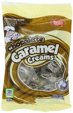 Goetze's Chocolate Caramel Creams, 4 Ounce (Pack of 12) - http://bestchocolateshop.com/goetzes-chocolate-caramel-creams-4-ounce-pack-of-12/