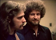 Don Henley and Glenn Frey 1970s | glenn and don | All Don Henley & some Eagles too ;) | Pinterest