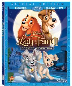 Lady And The Tramp II Special Edition Bluray Combo