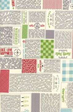 Hometown Christmas by Sweetwater for Moda Fabrics. Multi 5660 11 by ThreeOaksFabricCo on Etsy