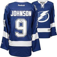 6c9a740bd Tampa Bay Lightning Autographed Jersey Tyler Johnson