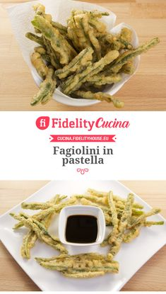 Fagiolini in pastella
