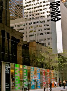 MOMA. To be here again for a day would be beautiful. A girl can dream.....