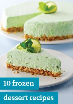 10 Frozen Dessert Recipes – Take a break in the midst of a hot summer with the help of our refreshing dessert recipes. Prepare delicious homemade popsicles or whip up ice cream recipes for a special occasion!