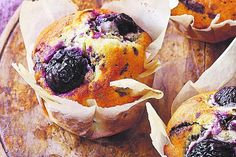 Paul Hollywood's cherry and Chocolat muffins