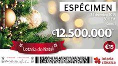Campomaiornews: Lotaria de Natal sai no nº 20496