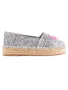CHIARA FERRAGNI | Chiara Ferragni Chiara Ferragni Espadrillas Eyes #Shoes #Sneakers #CHIARA FERRAGNI